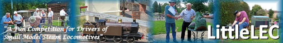 LittleLEC - A Fun Competition for Drivers of Small Model Steam Locomotives